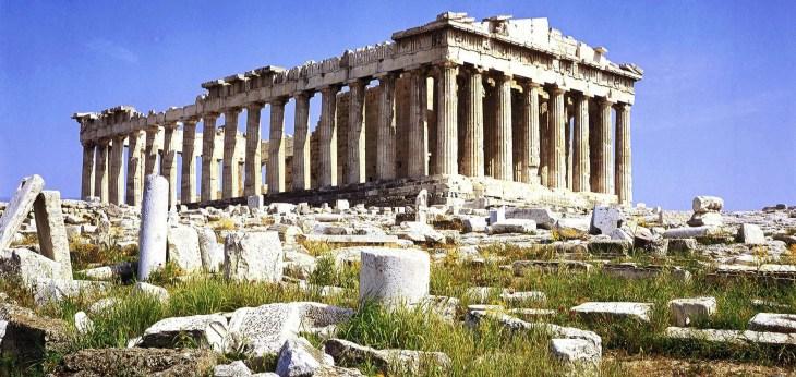 Пропорции, древнегреческая архитектура
