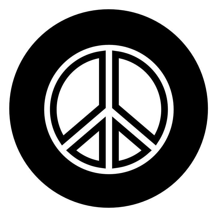 Символ мира (The Peace Symbol). Понимание Графического Дизайна.
