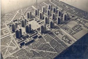 Ле Корбюзье (1887-1966) выставил свой печально известный план Вуазена