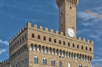 Корсет-столы-фасад-башня-Палаццо-Веккьо-Флоренция