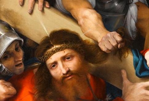 Lorenzo Lotto, 'Le Christ portant sa croix', 1526 - copie
