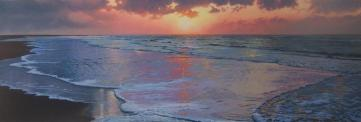 zonsondergang 50 x 150cm