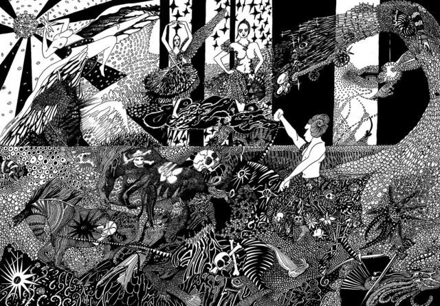 Le diable et ses demoiselles by Stéphanie Garbani.