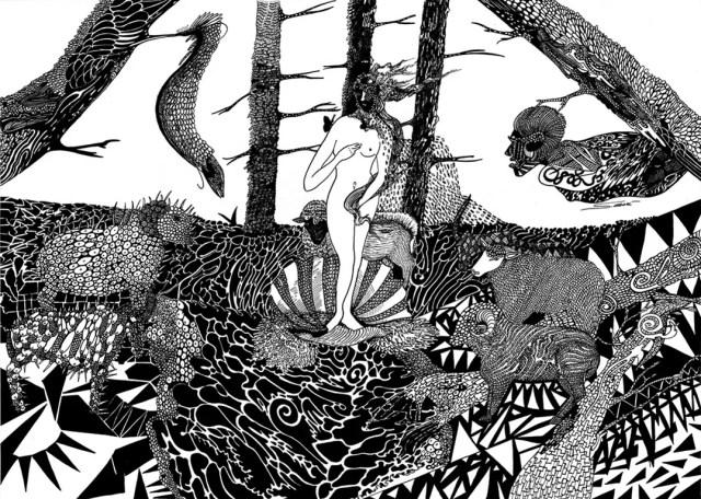La vénus sur mars by Stéphanie Garbani.