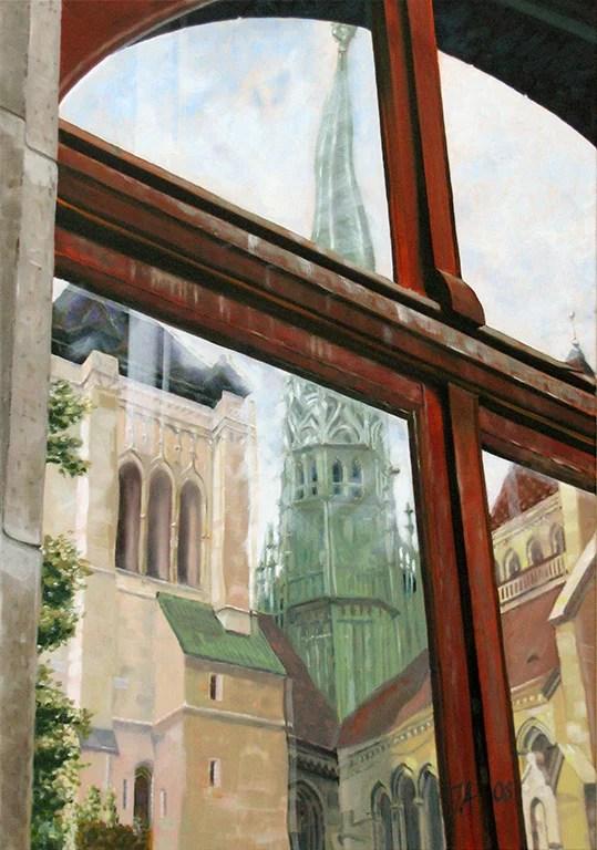 Genève - Cathédrale St-Pierre by John Allemann.