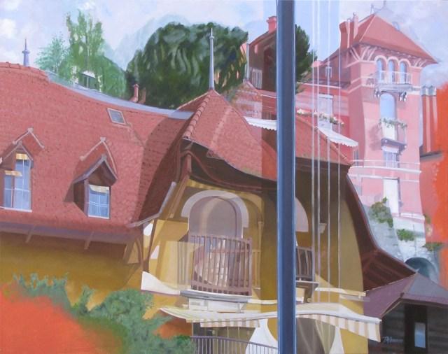 Montreux Maisons 1900 by John Allemann.