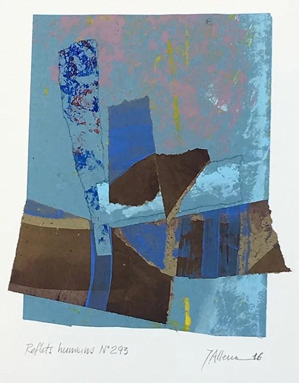 Reflets humains Liberté No293 by John Allemann