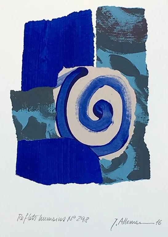 Reflets humains Liberté No298 by John Allemann