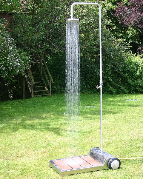 Emejing Dusche Garten Solar Sichtschutz Pictures - Home Design ...