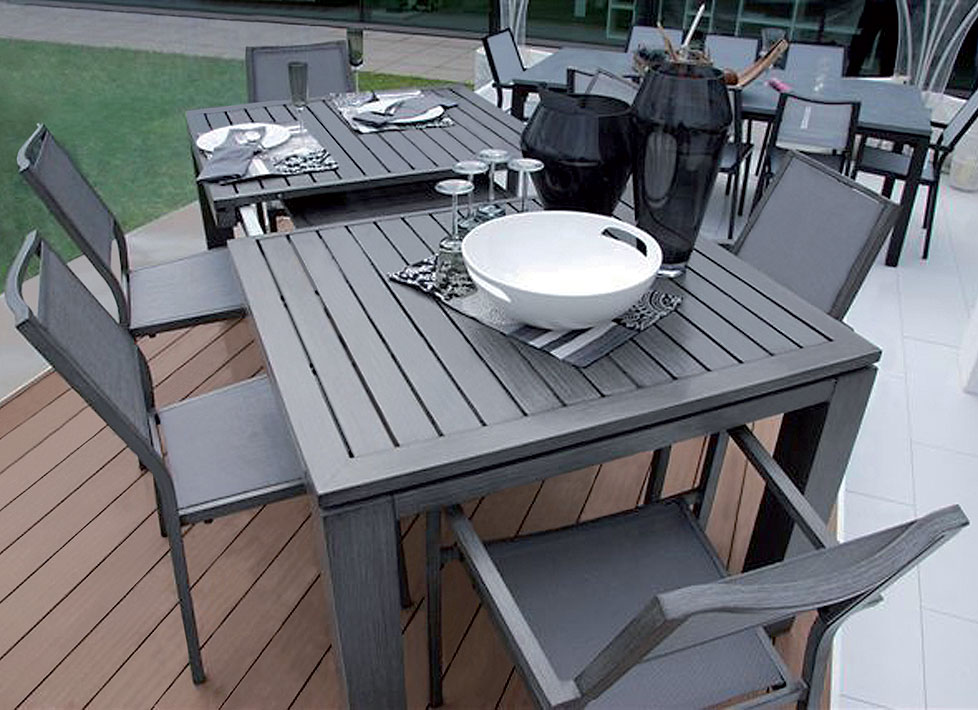 moderne gartenmobel aus aluminium von kettal - terrasseenbois, Möbel