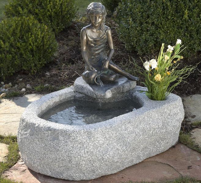 Rottenecker Brunnen Becken Cado  Figur Malin 420351 Art