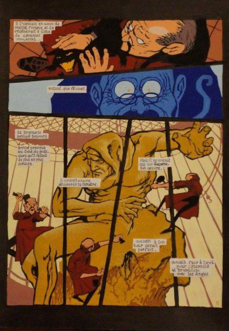 Boris Duvigan - Le sculpteur face à Goliath