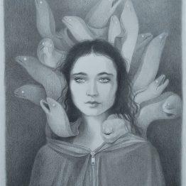 Dessin original Camille Benyamina - Galerie Art Maniak