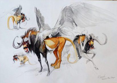 Renaud Collin - Plume Dragon