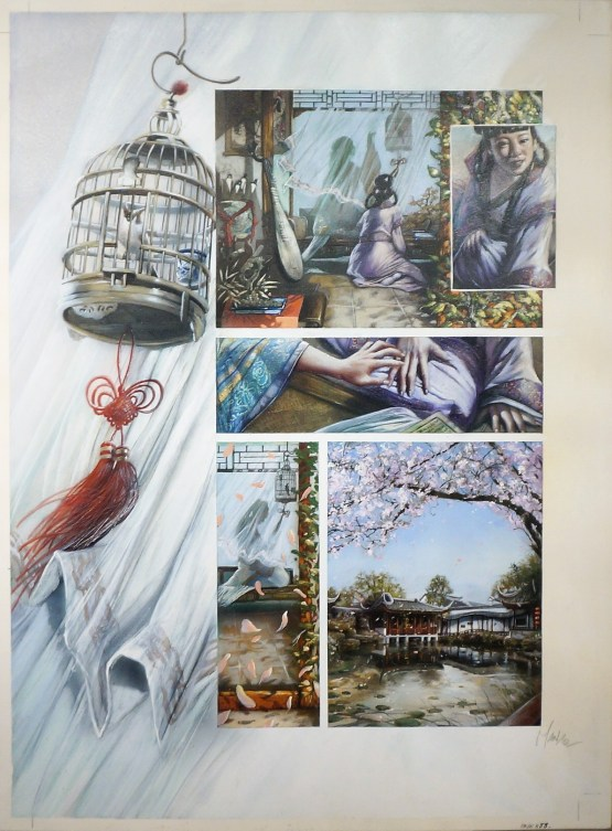 Planche originale - Emmanuel Civiello