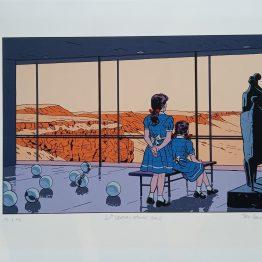 Sérigraphie Ted Benoit - Galerie Art Maniak