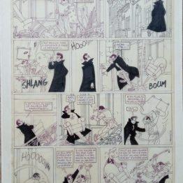 Planche originale Gang Mazda - Darasse - Galerie Art Maniak