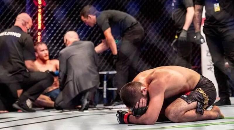 Khabib combat UFC arts martiaux