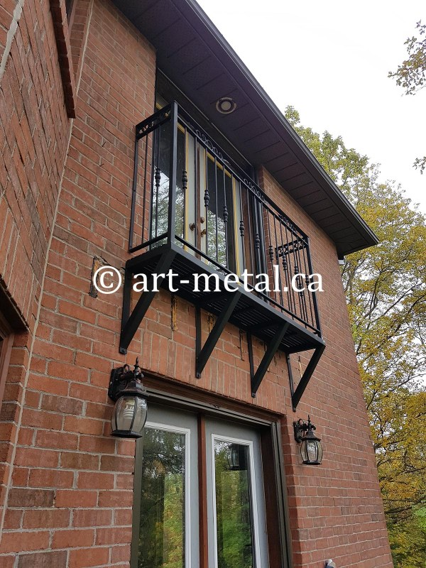 French Balcony Railings In Toronto & Gta