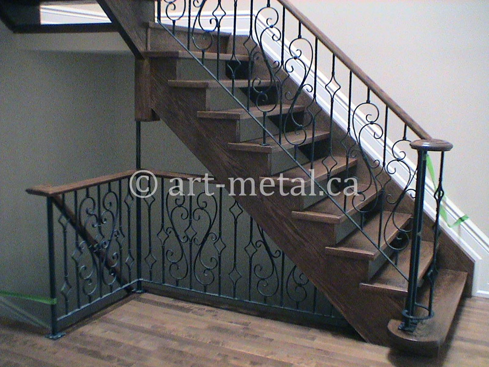 Interior Metal Stair Railing from the Best Contractor in