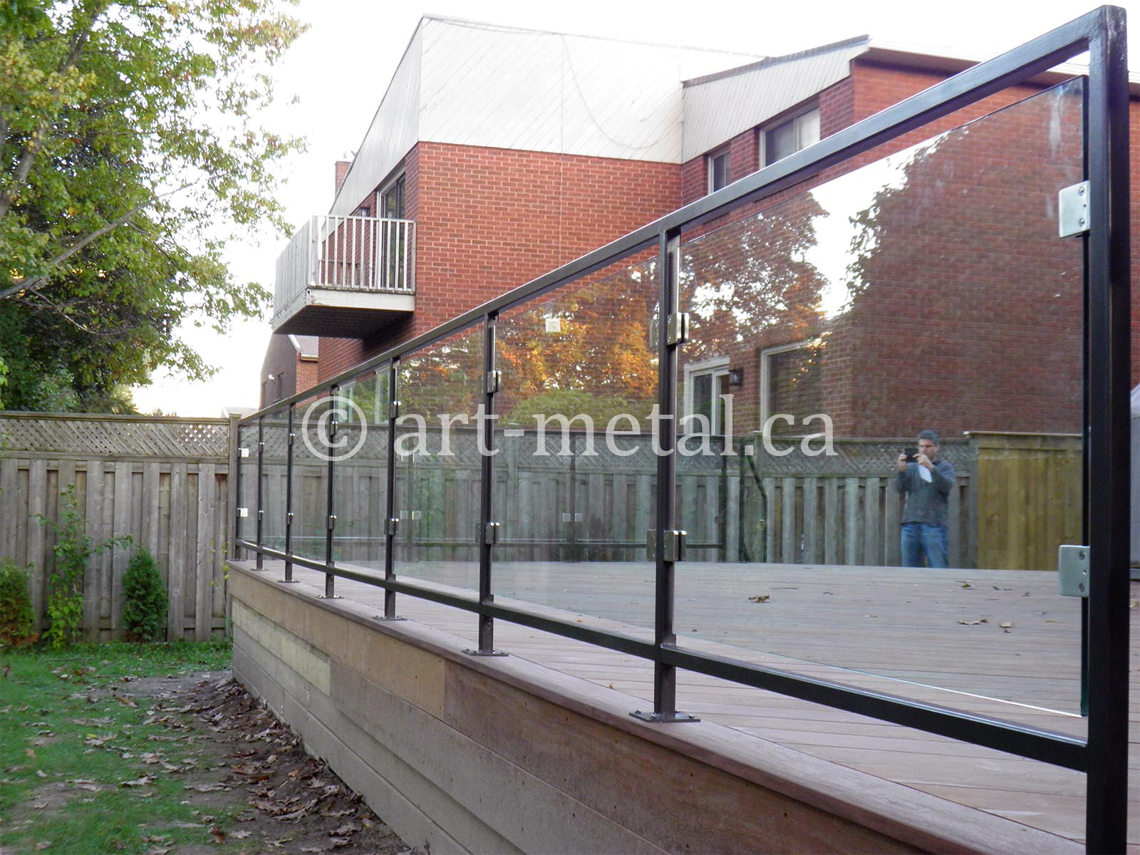 Metal Patio Railing