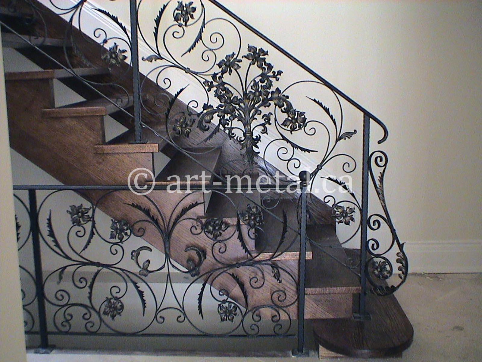 Get Original Wrought Iron Designs for Gates and Railings