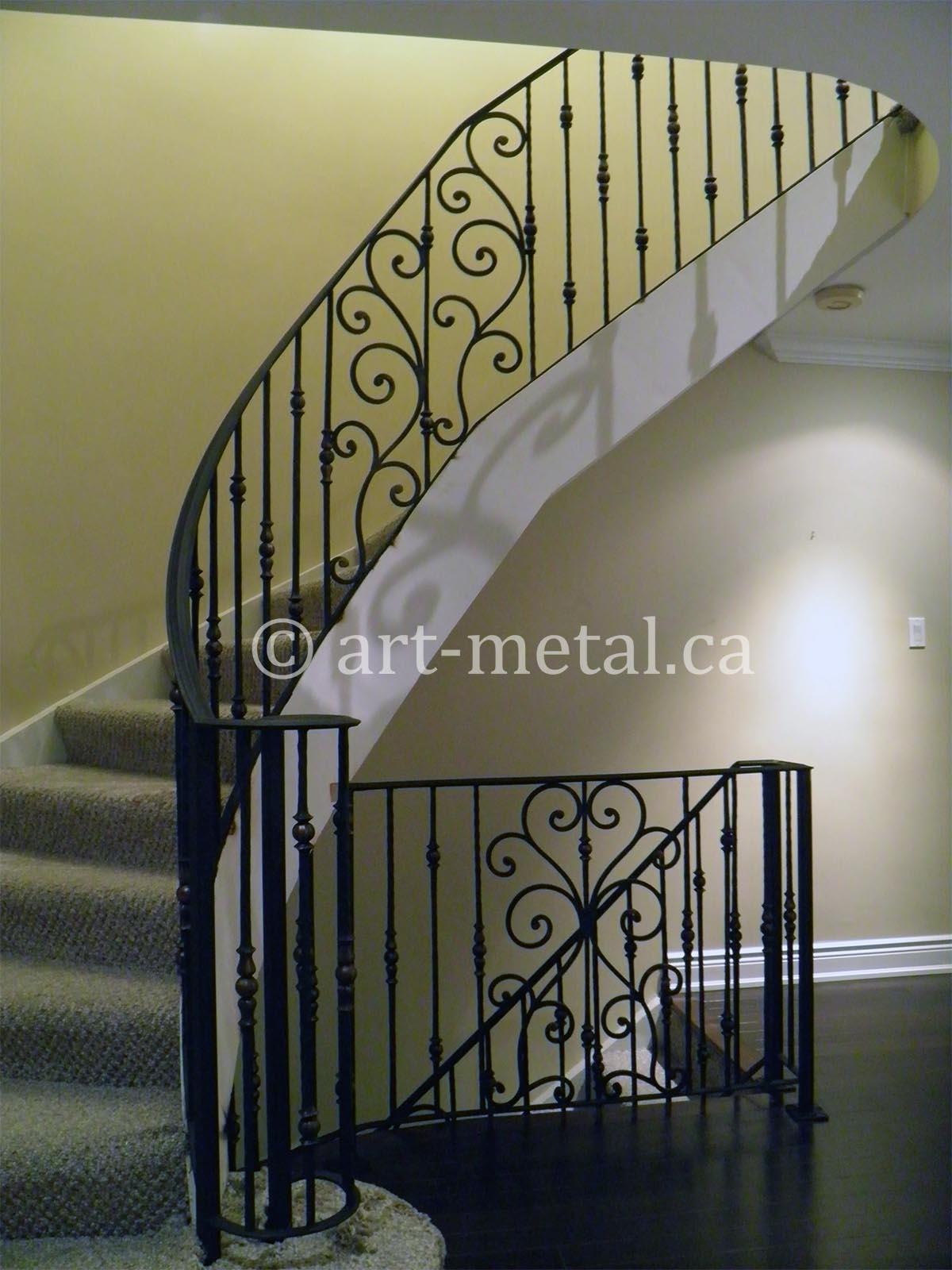 Get Best Wrought Iron Staircase Designs Ideas In Toronto   Wrought Iron Staircase Designs   Circular Staircase   Stair Grill Design   Railing Grand Staircase   Photo Flower Flower   Stairway