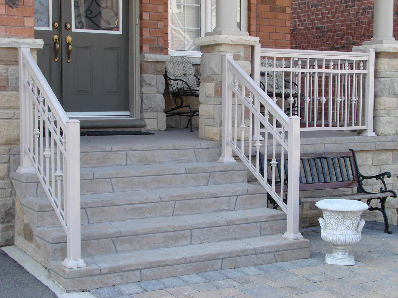 Exterior Porch Railings