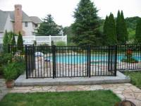 Front Yard and Back Yard Fences - Metal & Wrought Iron ...