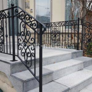 Exterior Metal Stair Railing For Safety And The Look Of Your Home | Exterior Metal Stair Railing | Contemporary | Steel | Outdoor | Aluminum | Mild Steel