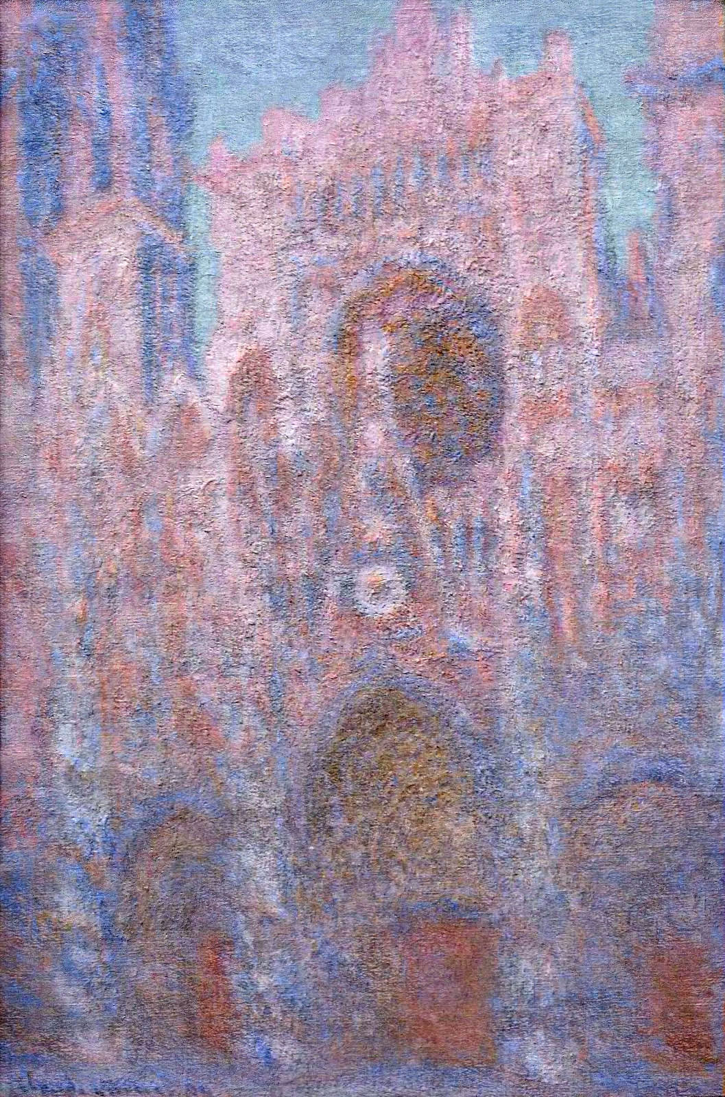 Claude Monet, Rouen Cathedral, Symphony in Grey and Rose, 1892-94, National Museums and Galleries of Wales, The Davies Sisters Collection
