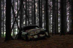 Недалеко от деревушки Шатийон, на юге Бельгии, находится необычное кладбище – автомобильное.