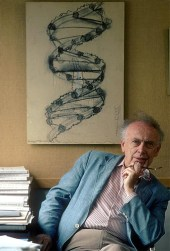 Доктор Джеймс Уотсон, открыл структуру молекулы ДНК. Фото сделано ассистентом в день открытия
