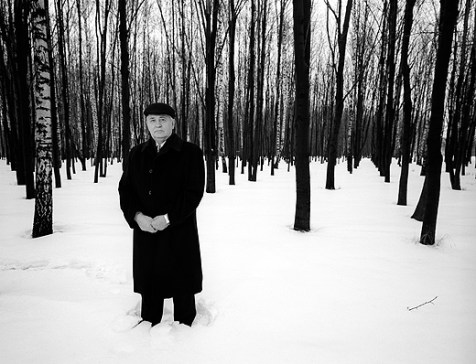 Михаил Горбачев, Москва. Фото Джо МакНэлли