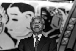 Нельсон Мандела, 1990. Фото Гарри Бенсона