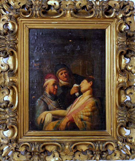 В Нью-Джерси нашли картину из серии «Пять чувств» молодого Рембрандта