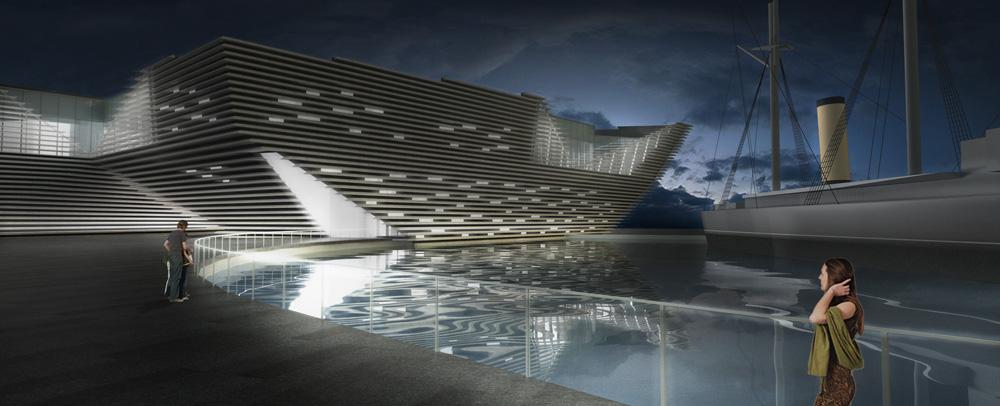 Музей Виктории и Альберта в Данди станет самым дорогим в регионе