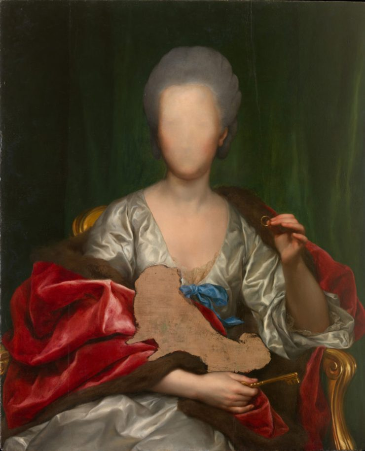 Портрет Марианны де Сильва-и-Сармьенто, герцогини Уэскар