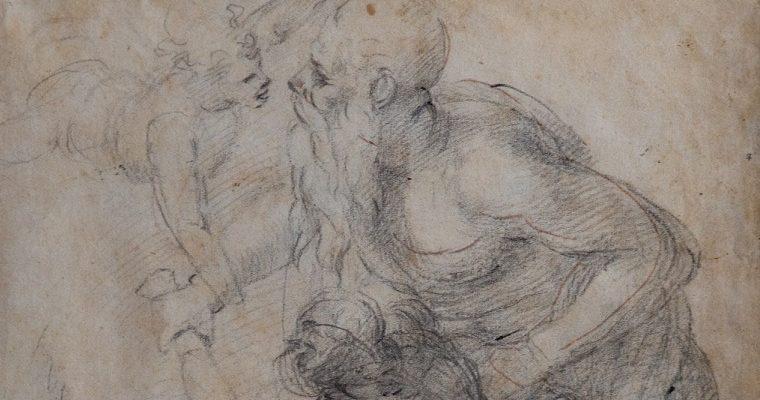 В Риме впервые покажут неизвестный рисунок Микеланджело