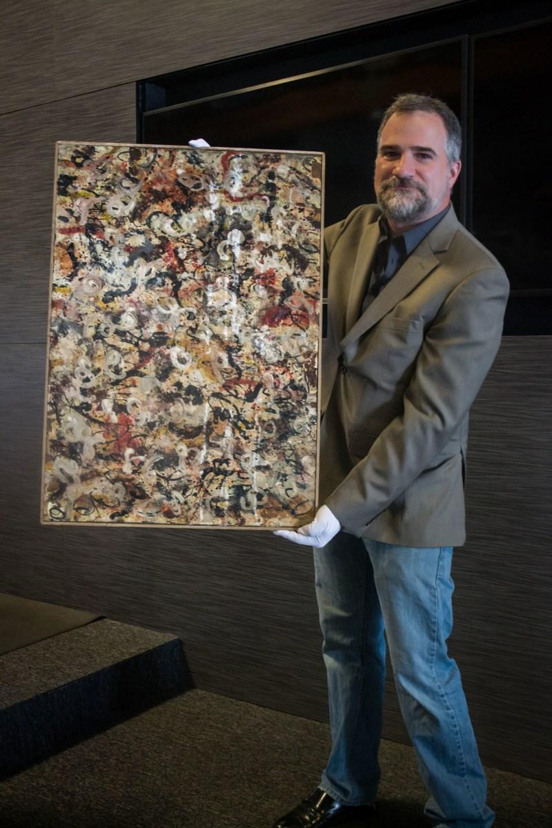 Обнаружена картина Джексона Поллока стоимостью $10 млн