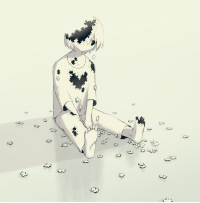 Художник демонстрирует чувства, которые сложно передать словами