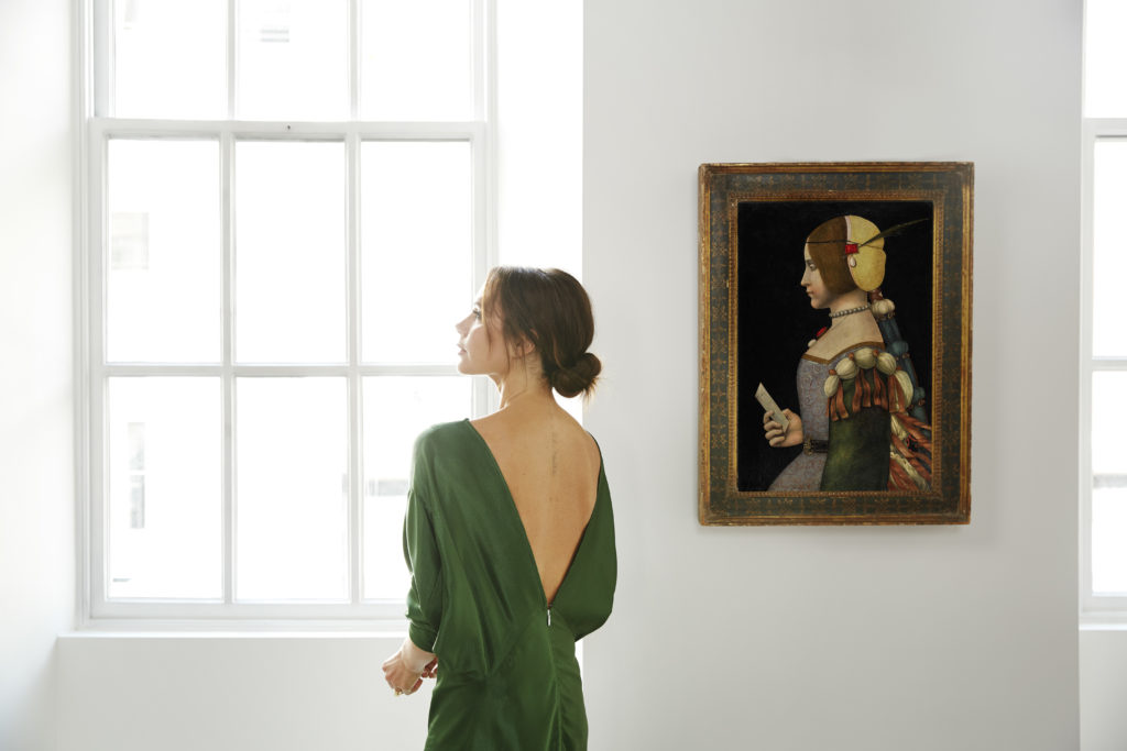 Любимая картина Виктории Бекхэм была продана за $7 млн