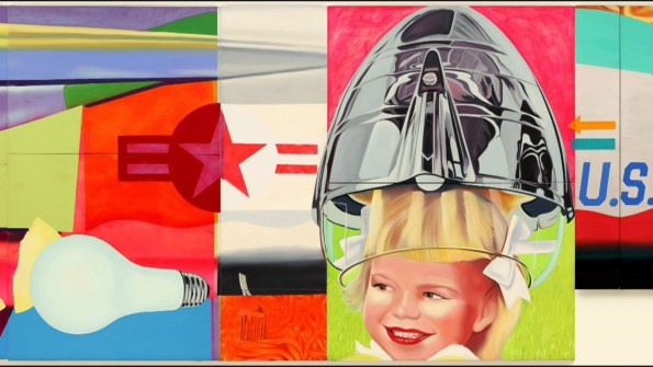 Mezzanine by James Rosenquist