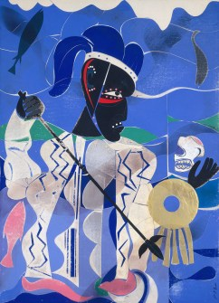 Poseidon The Sea God by Romare Bearden