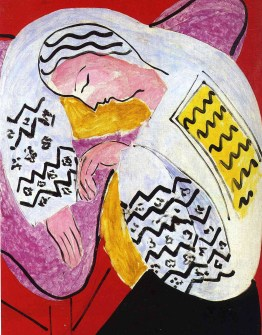 The Dream by Henry Matisse
