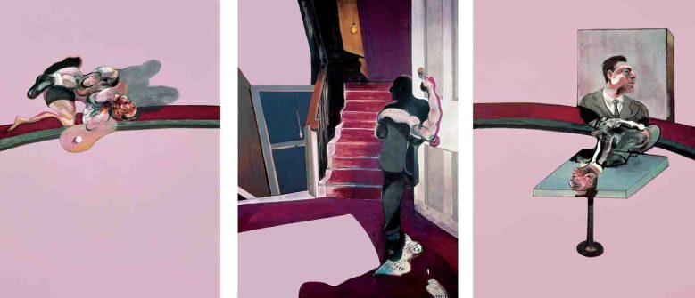 Triptych in Memory of George Dyer by Francis Bacon
