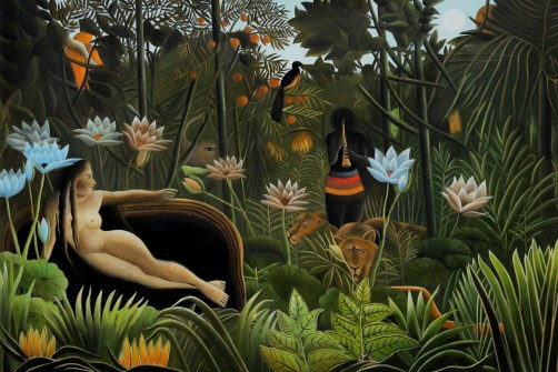 The Dream by Henri Rousseau OSA221
