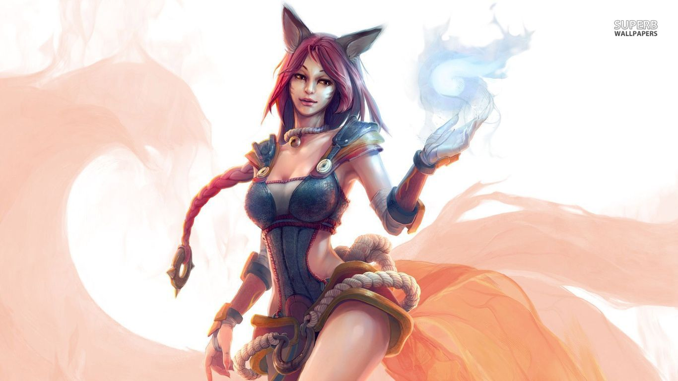 League Of Legends Wallpapers Hd 1080p Ahri League Of Legends Fan Art Art Of Lol