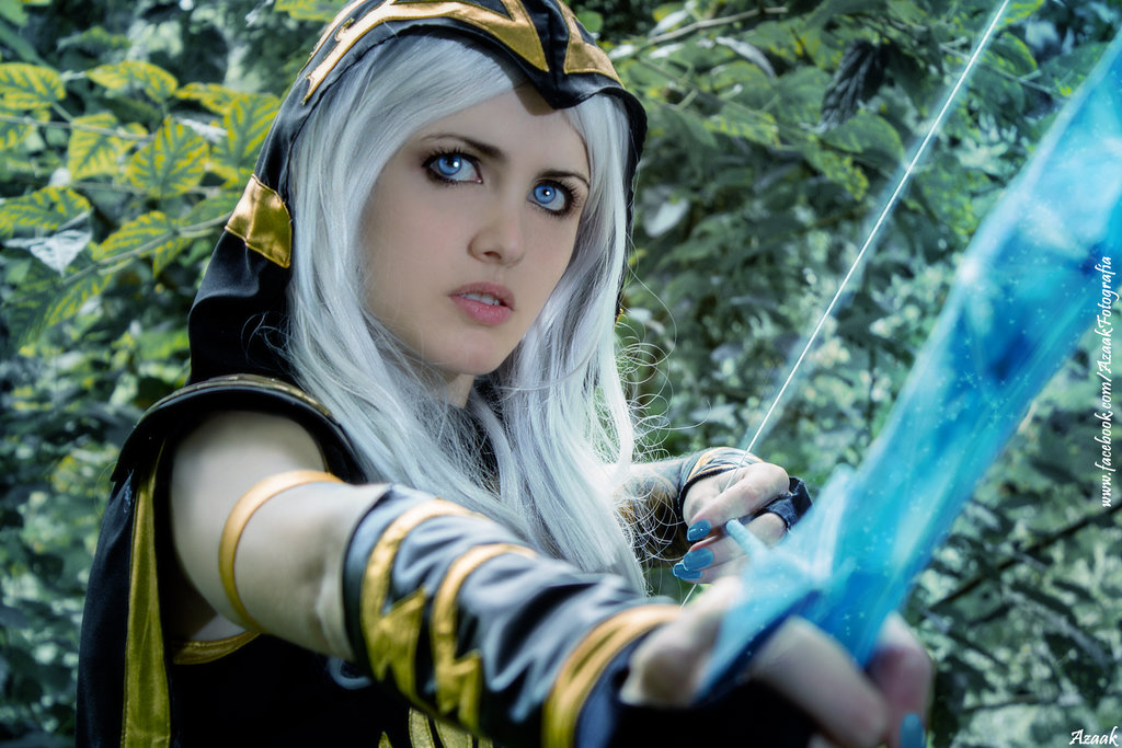 Nocturne Wallpaper Hd Ashe League Of Legends Cosplay Art Of Lol