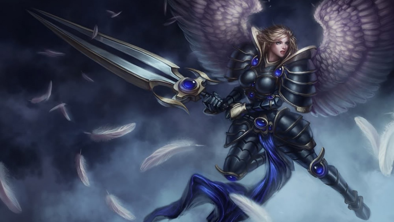 Nocturne Wallpaper Hd Kayle League Of Legends Wallpapers Art Of Lol